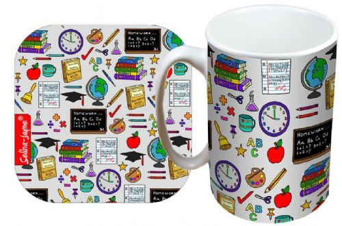 Selina-Jayne Teachers Limited Edition Designer Mug and Coaster Gift Set